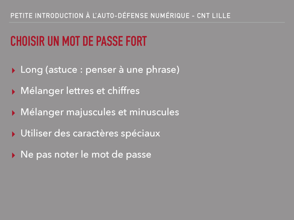 PETITE INTRODUCTION À L'AUTO-DÉFENSE NUMÉRIQUE ...