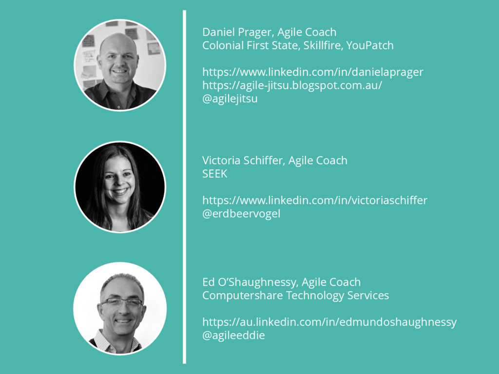 Daniel Prager, Agile Coach Colonial First State...