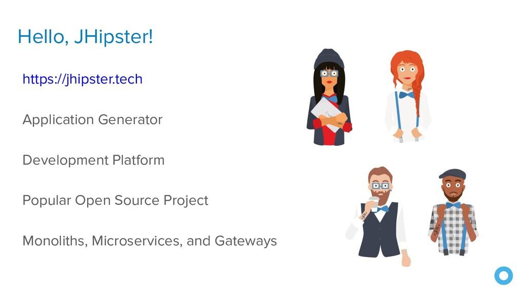 Hello, JHipster! https://jhipster.tech Applicat...