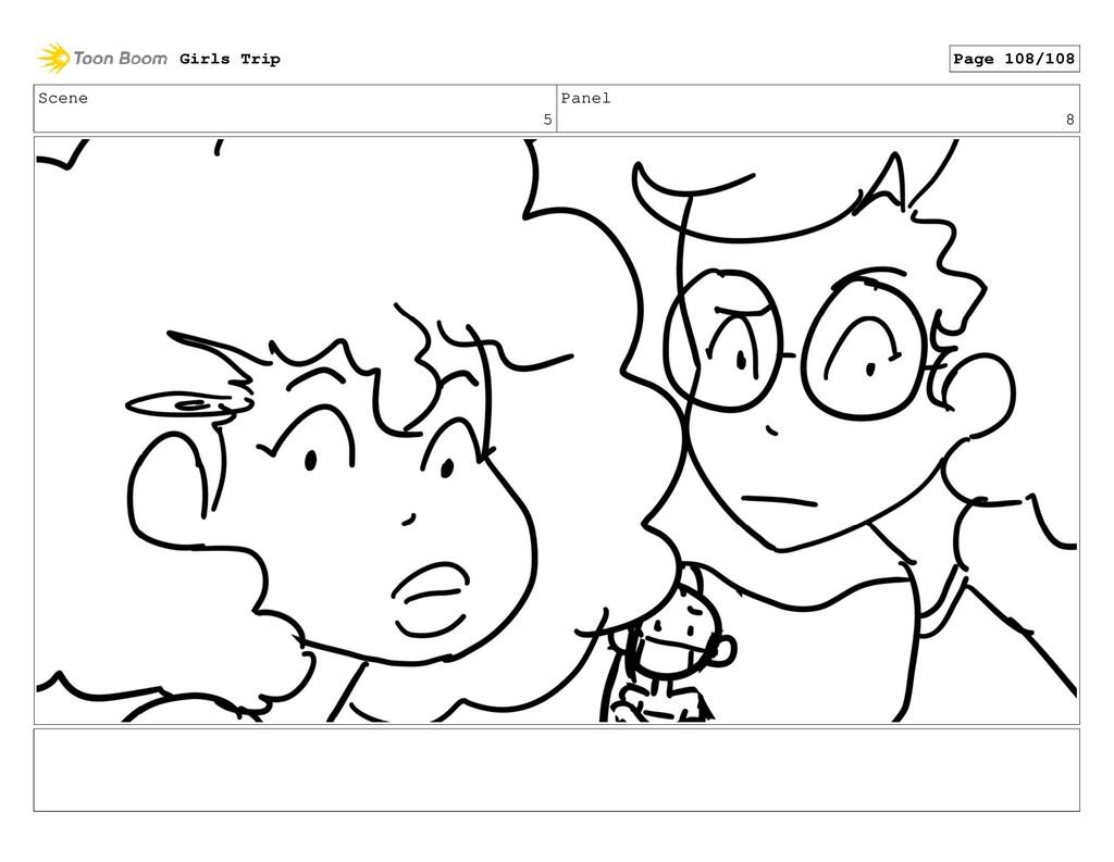 Scene 5 Panel 8 Girls Trip Page 108/108
