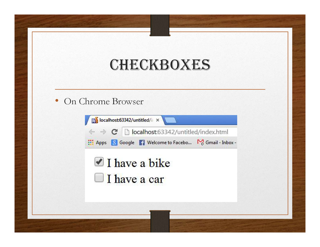 chEcKBOxES • On Chrome Browser