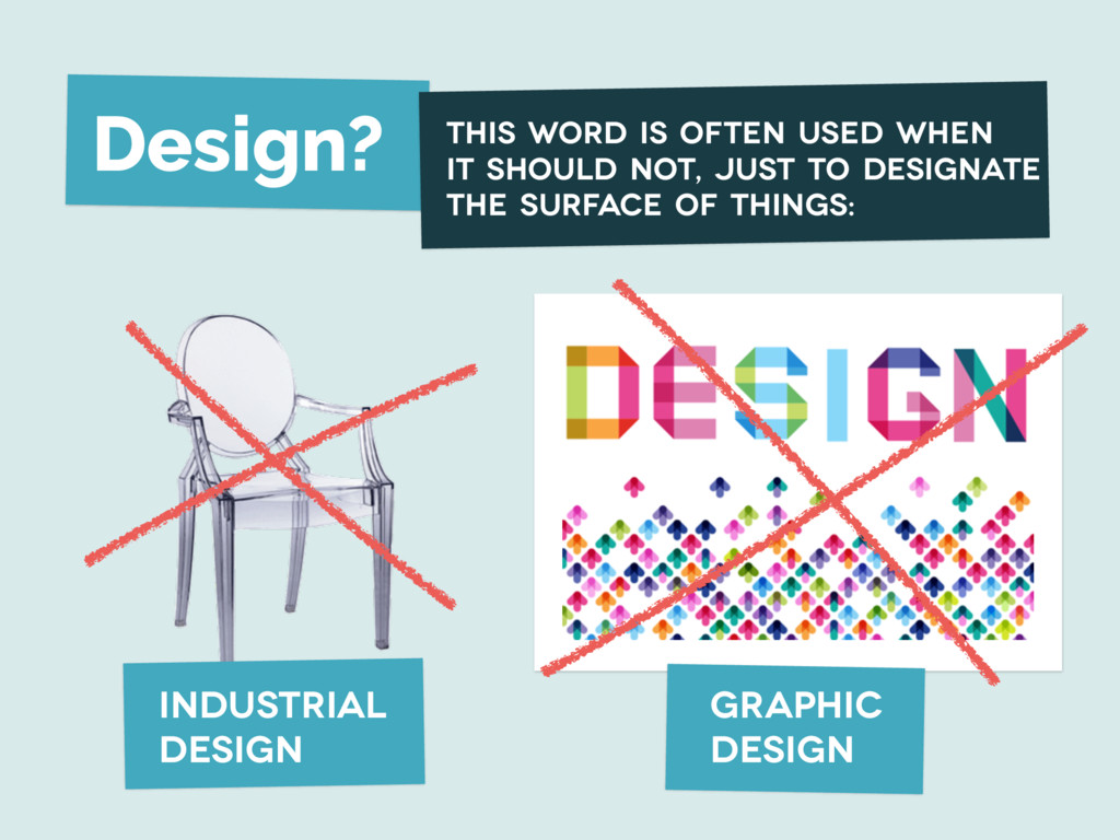 Design? industrial design graphic design This w...
