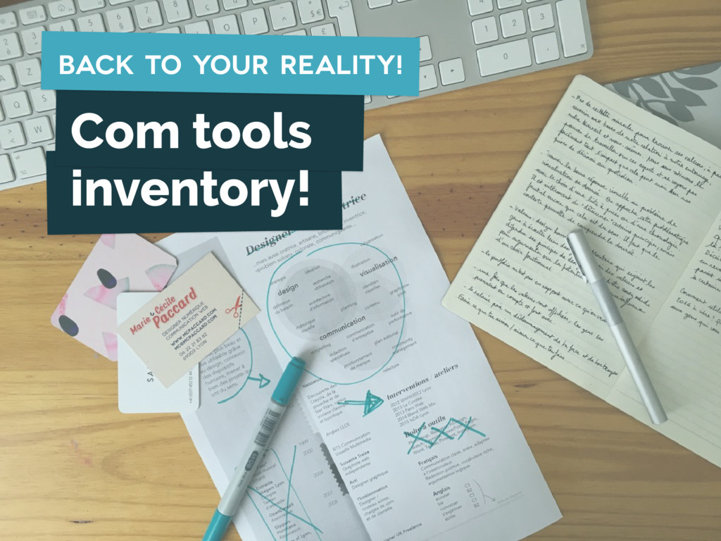 Com tools inventory! back to your reality!