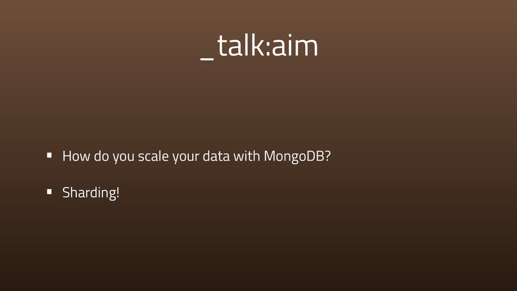 _talk:aim • How do you scale your data with Mon...