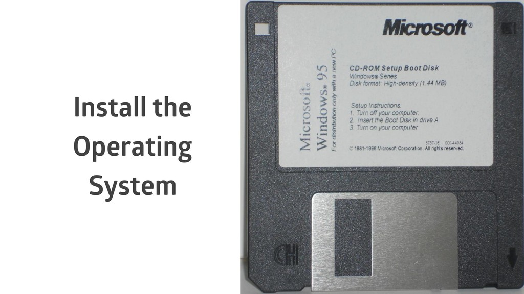 Install the Operating System