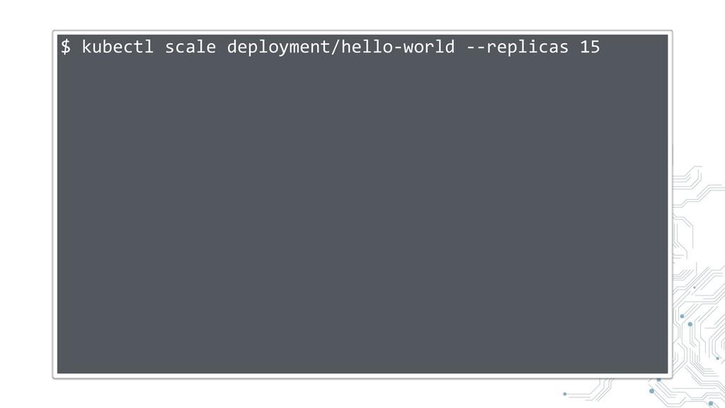 $ kubectl scale deployment/hello-world --replic...