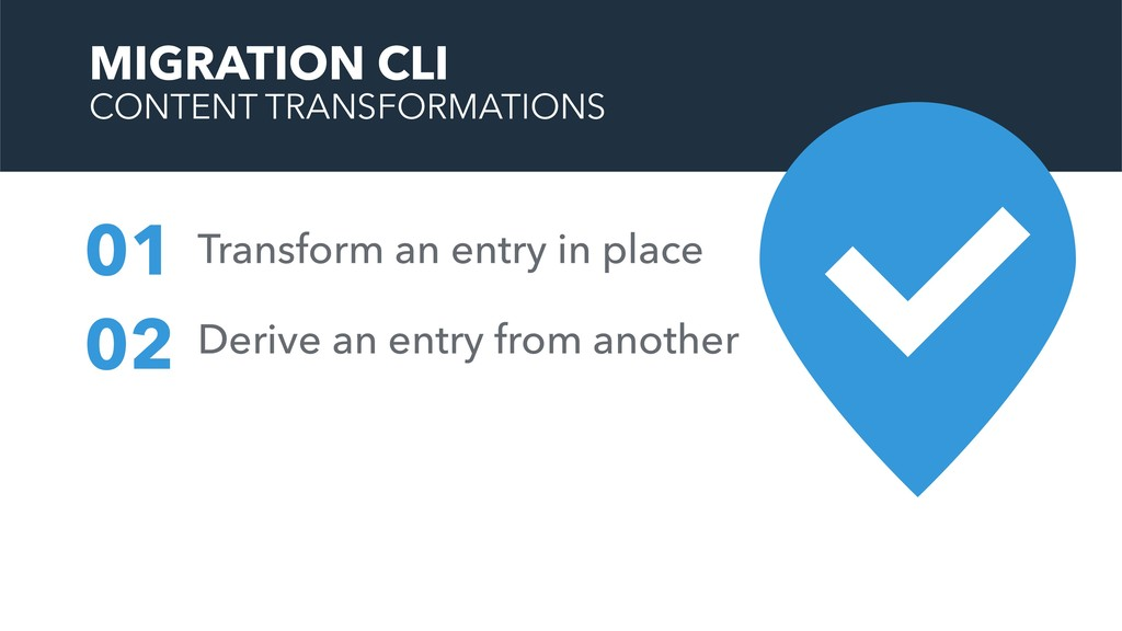 Transform an entry in place 01 02 Derive an ent...