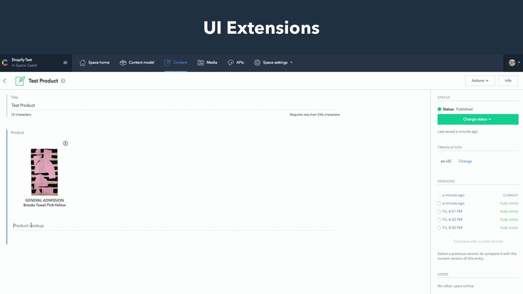 UI Extensions
