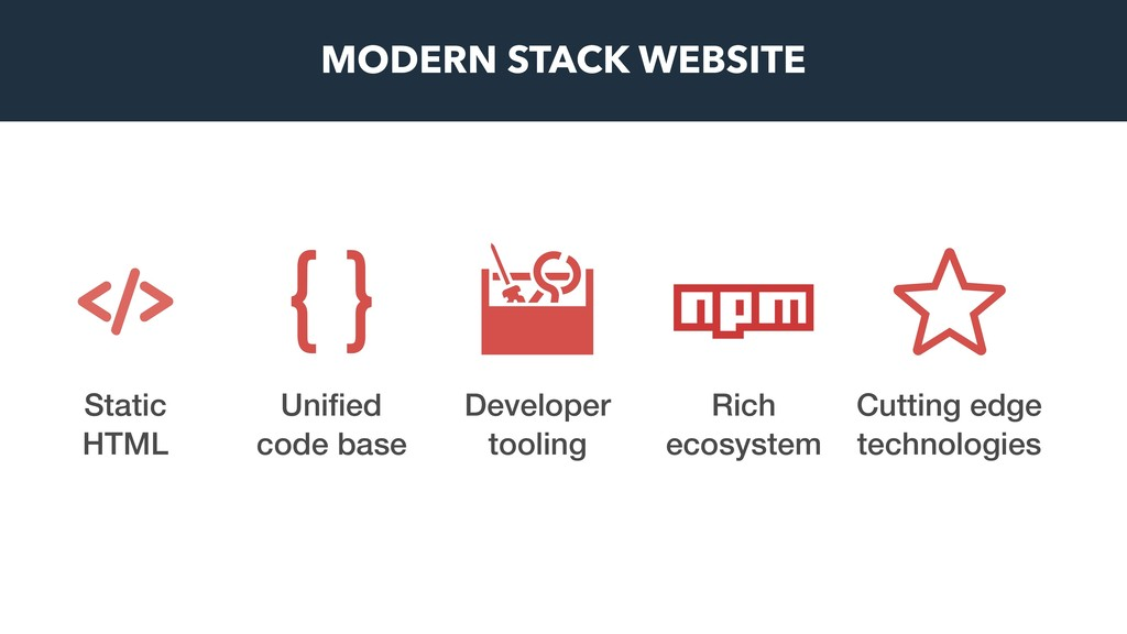 Rich ecosystem Unified code base Cutting edge te...