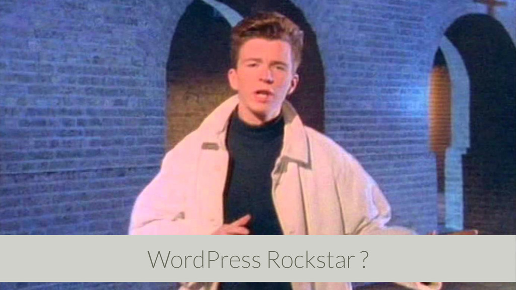 WordPress Rockstar ?
