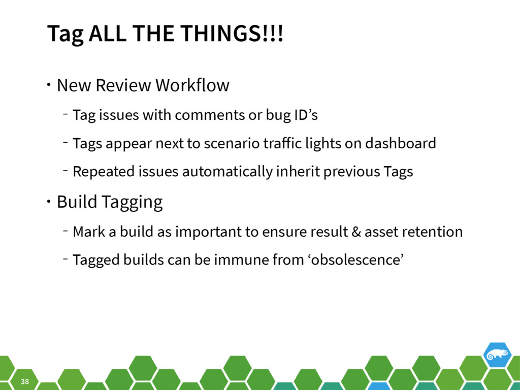 38 Tag ALL THE THINGS!!! • New Review Workflow ...
