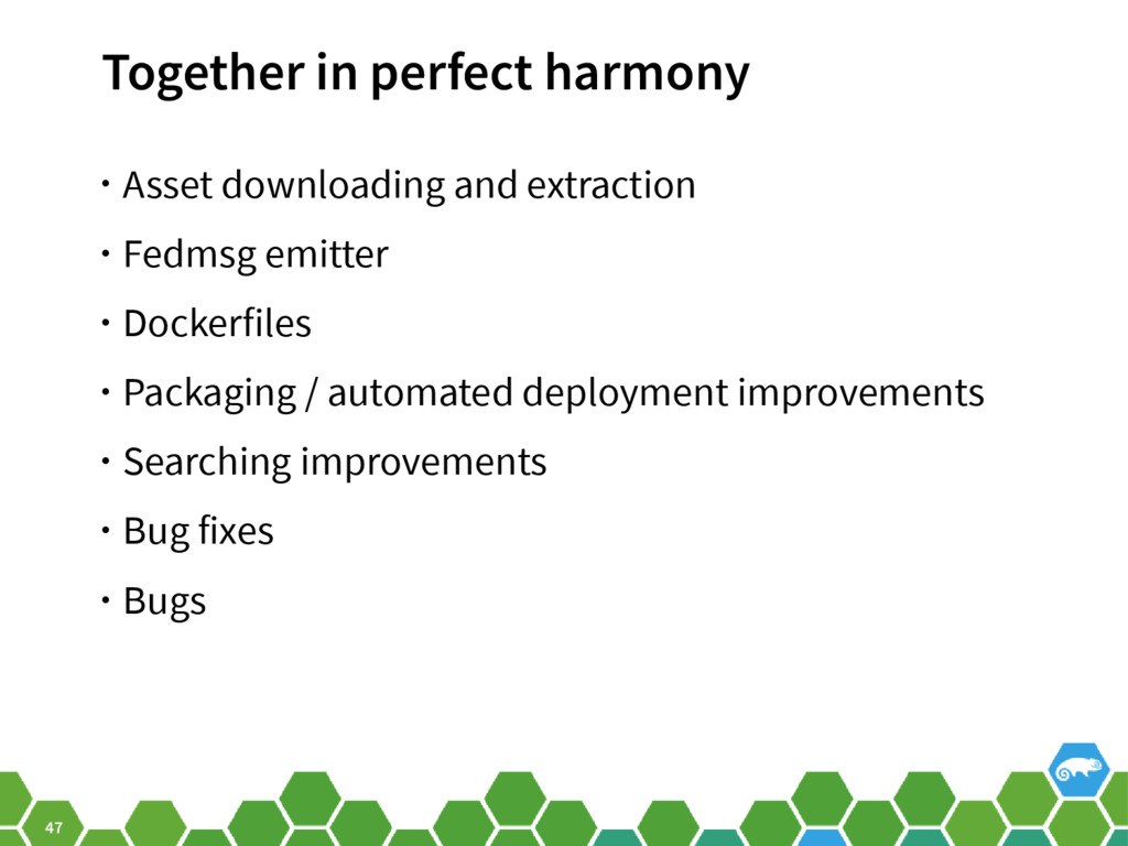 47 Together in perfect harmony • Asset download...