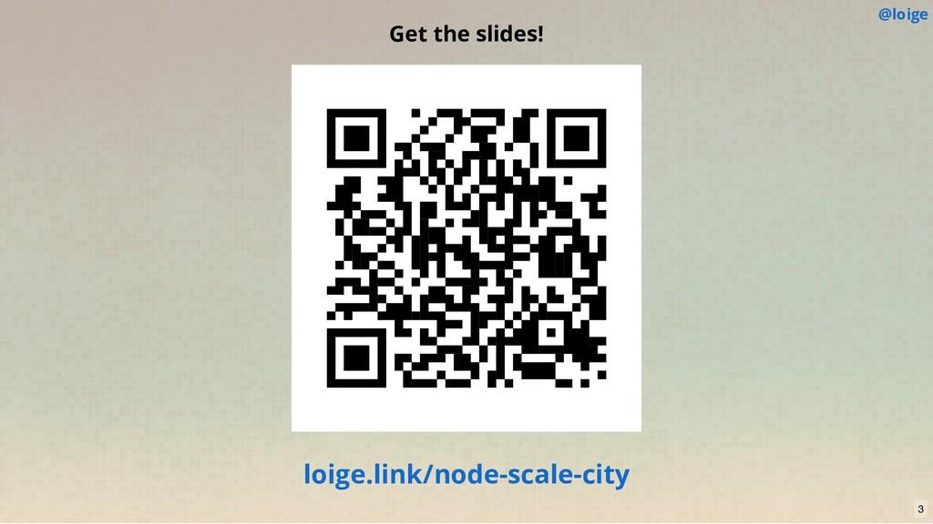 @loige Get the slides! loige.link/node-scale-ci...