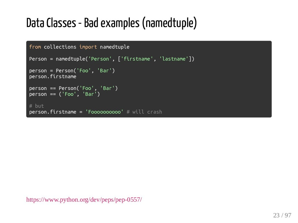 Data Classes - Bad examples (namedtuple) from c...