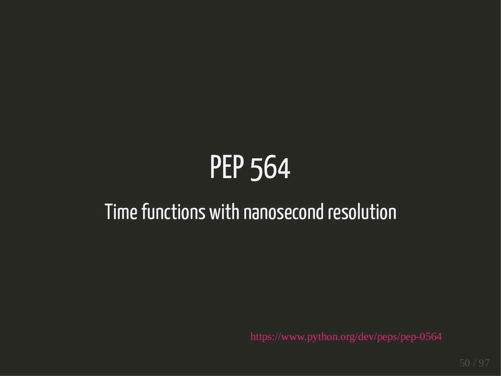 PEP 564 Time functions with nanosecond resoluti...