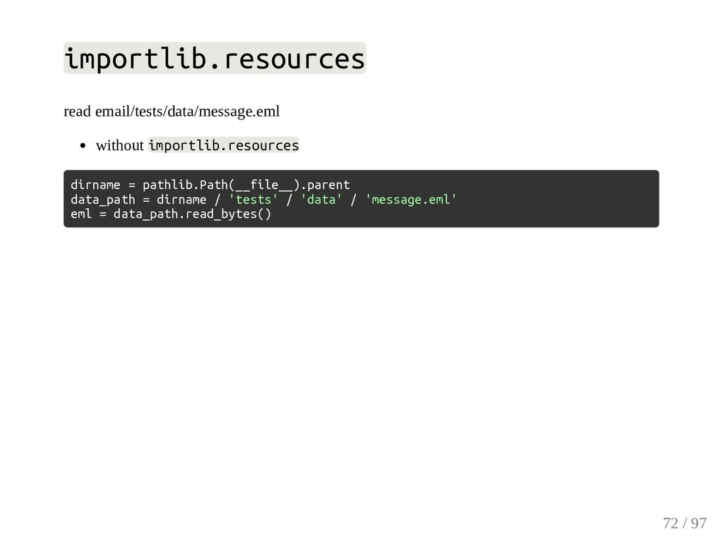 importlib.resources read email/tests/data/messa...