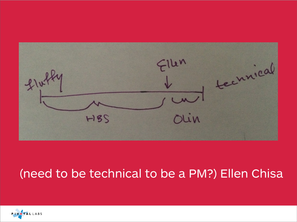 (need to be technical to be a PM?) Ellen Chisa