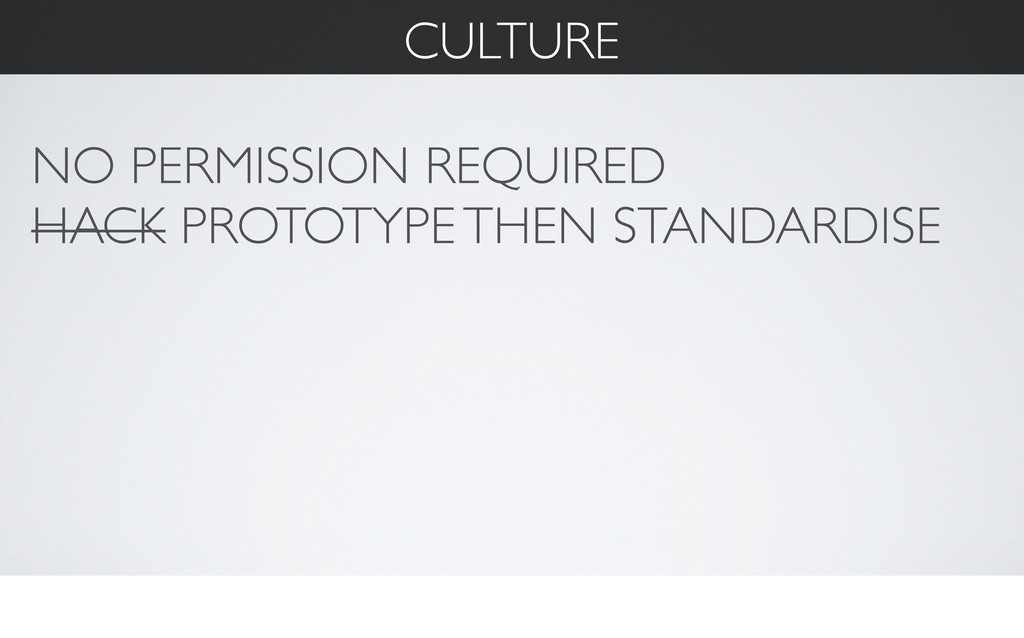 CULTURE NO PERMISSION REQUIRED HACK PROTOTYPE T...
