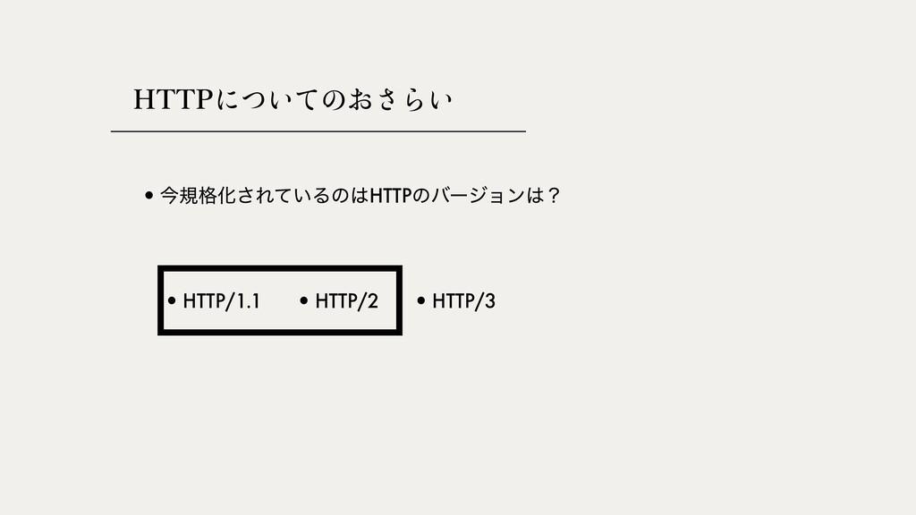 )551쎂썻썛썽쎅썡썬쎠썛 •ࠓن֨Խ͞Ε͍ͯΔͷHTTPͷόʔδϣϯʁ •HTTP/1....