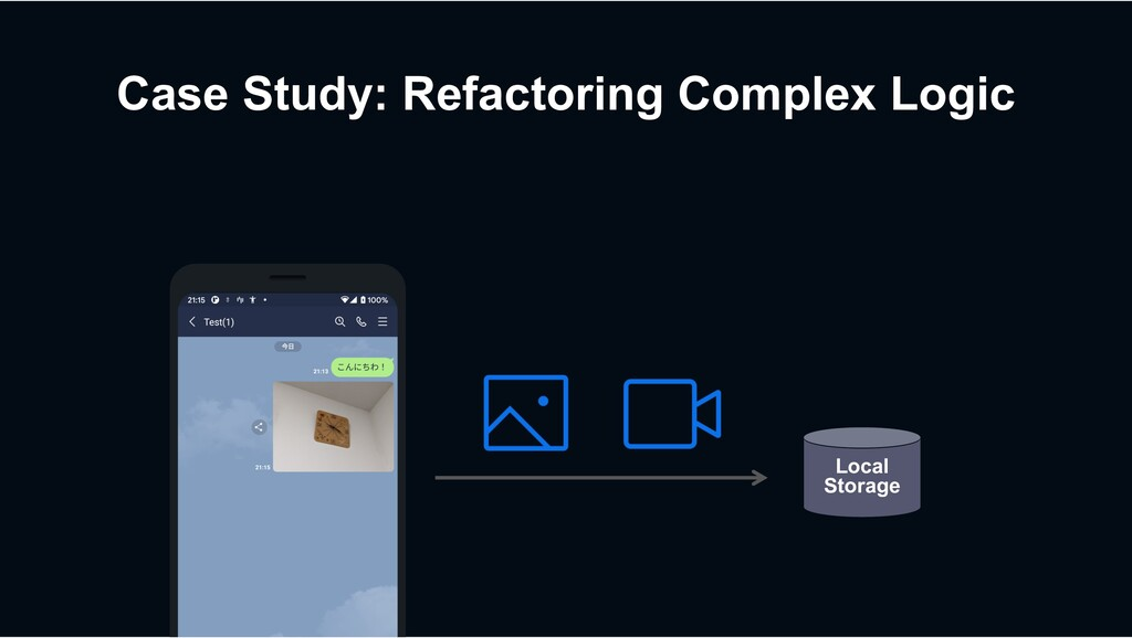 Case Study: Refactoring Complex Logic Local Sto...