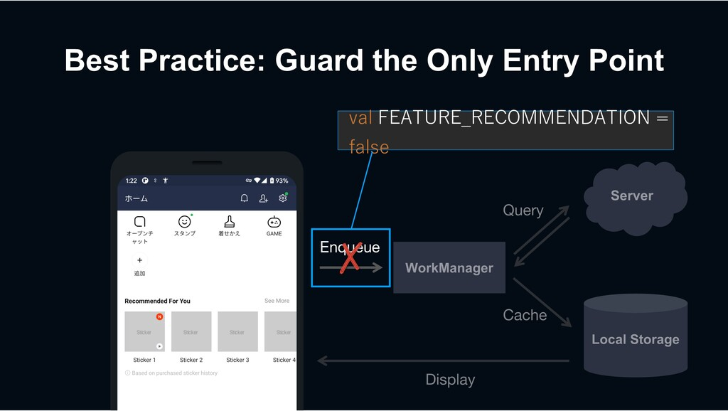 Best Practice: Guard the Only Entry Point Enque...