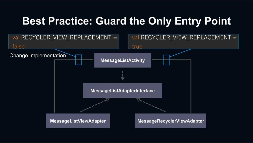 MessageListViewAdapter Best Practice: Guard the...