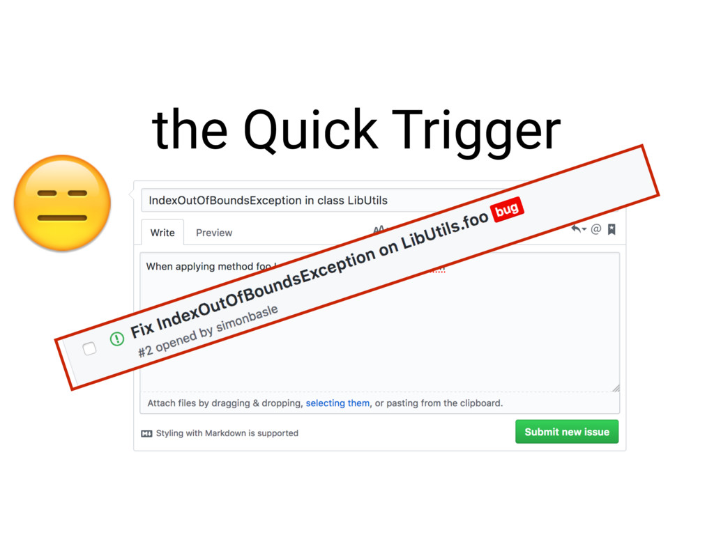 the Quick Trigger