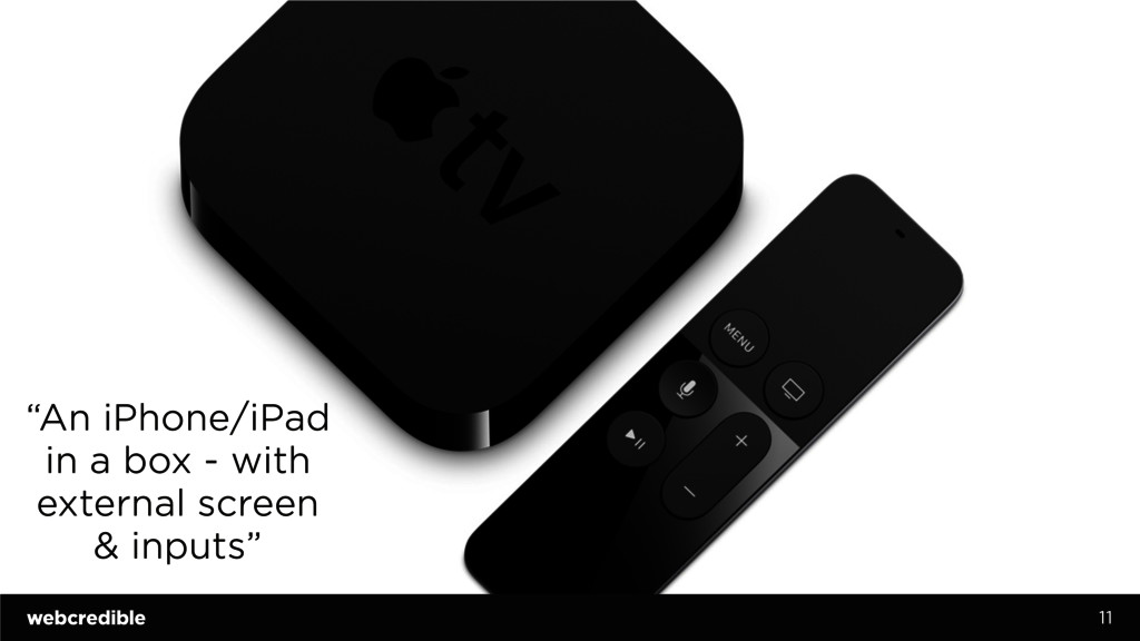 """11 """"An iPhone/iPad in a box - with external scr..."""