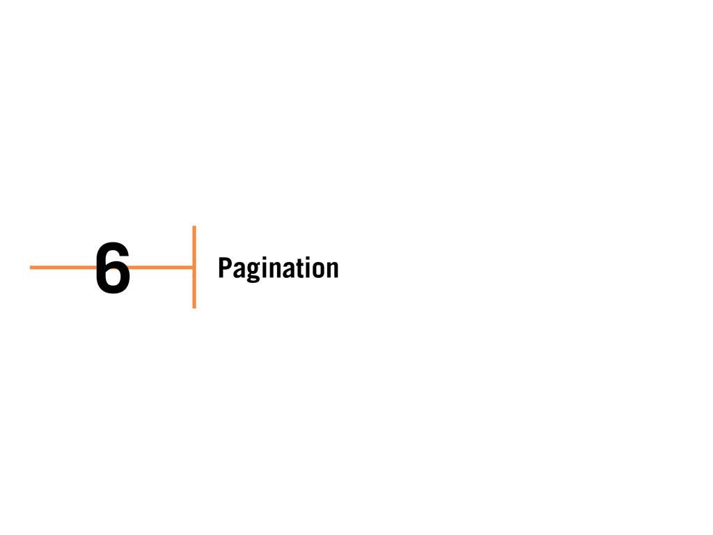 Pagination 6