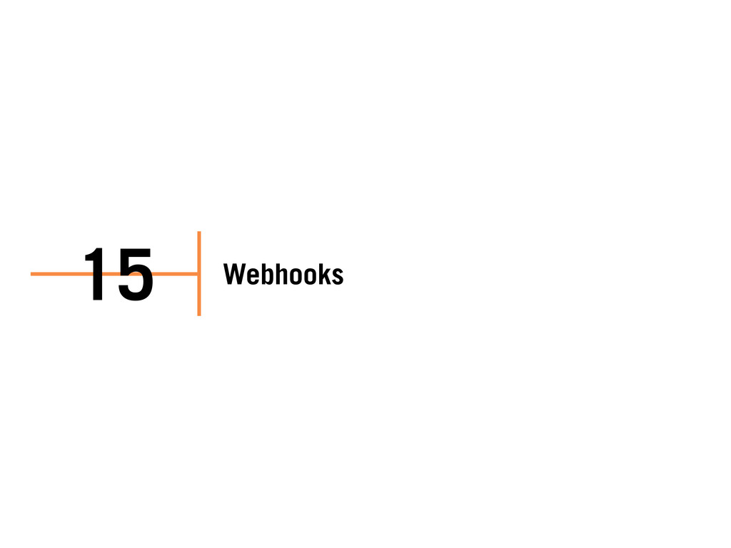 Webhooks 15