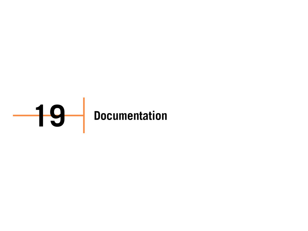 Documentation 19