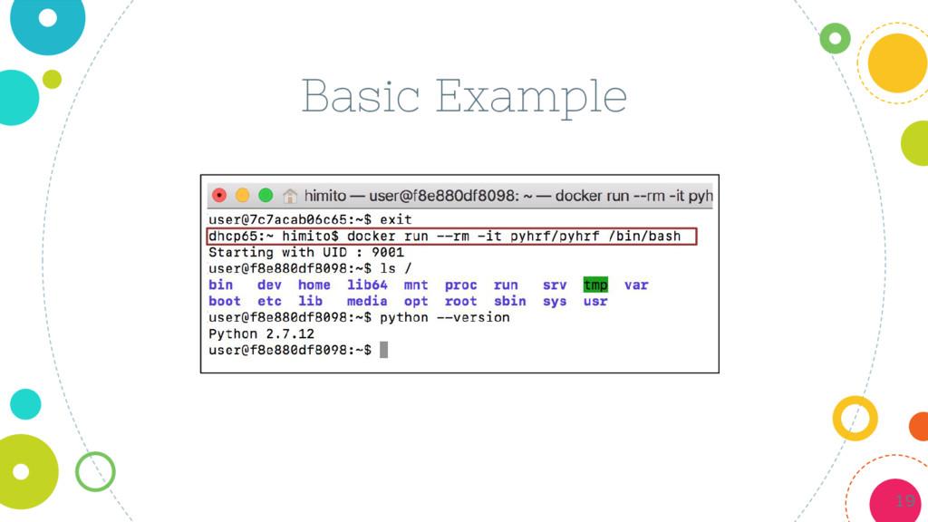 Basic Example 19