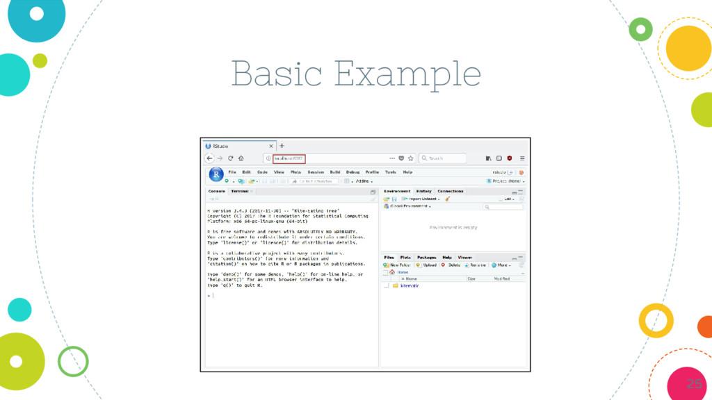 Basic Example 25