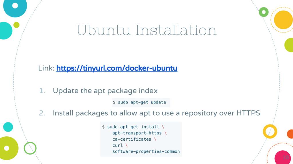 Ubuntu Installation Link: https://tinyurl.com/d...