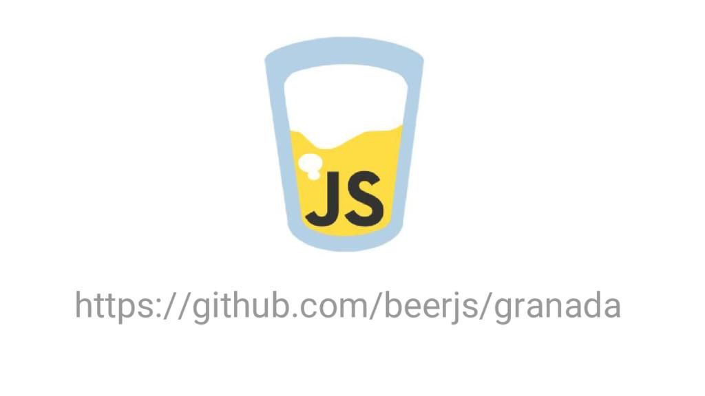 https://github.com/beerjs/granada