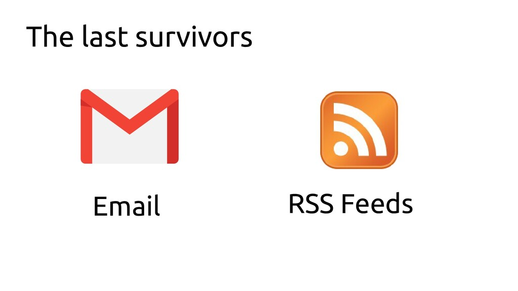 The last survivors Email RSS Feeds