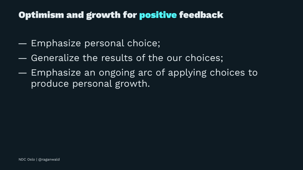 Optimism and growth for positive feedback — Emp...