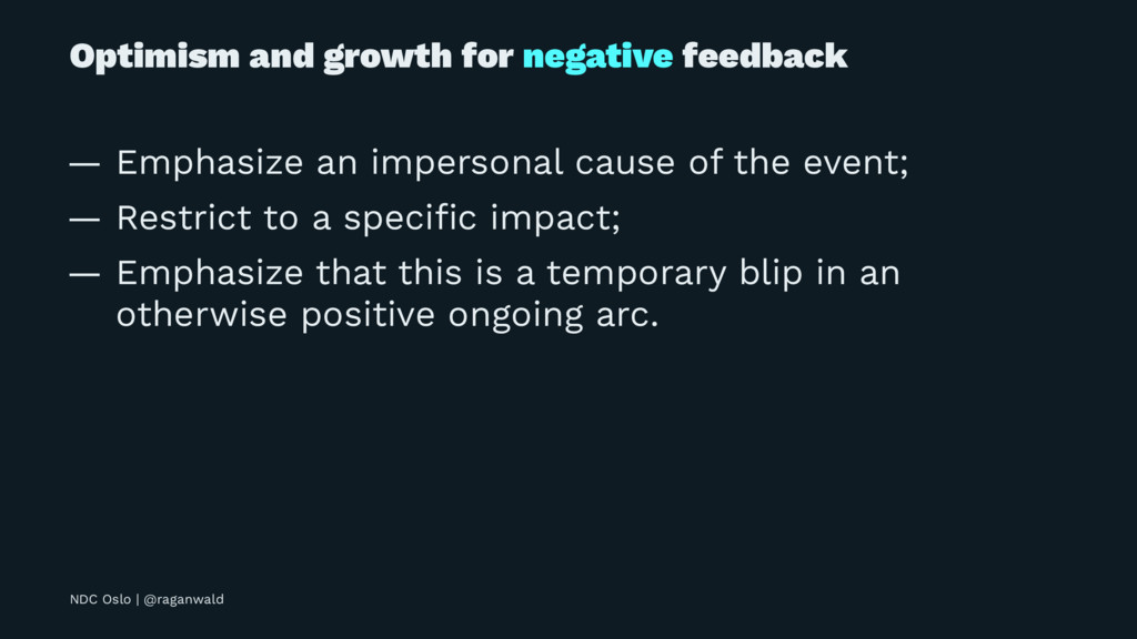 Optimism and growth for negative feedback — Emp...