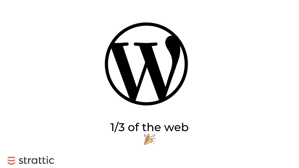 1/3 of the web !