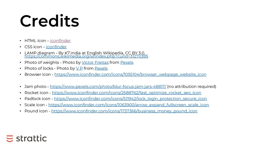 Credits • HTML icon – iconfinder • CSS icon – i...