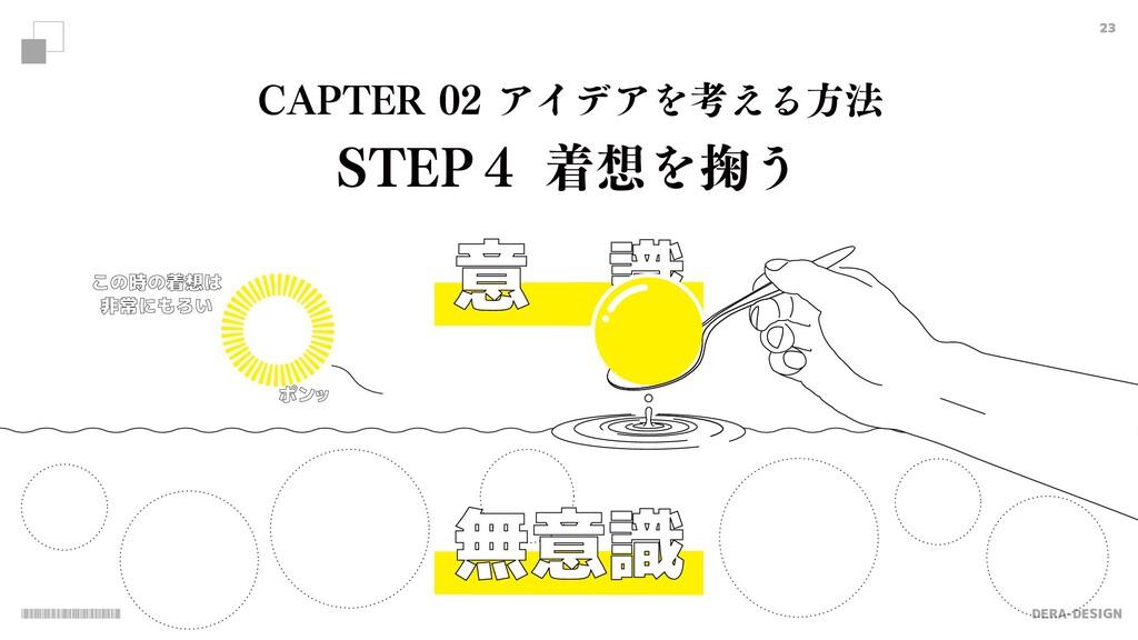 """意 識 DERA-DESIGN 23 $""""15&3ΞΠσΞΛߟ͑Δํ๏ 45&1̐ண..."""