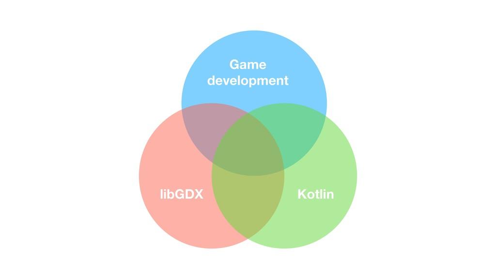 Game  development Kotlin libGDX
