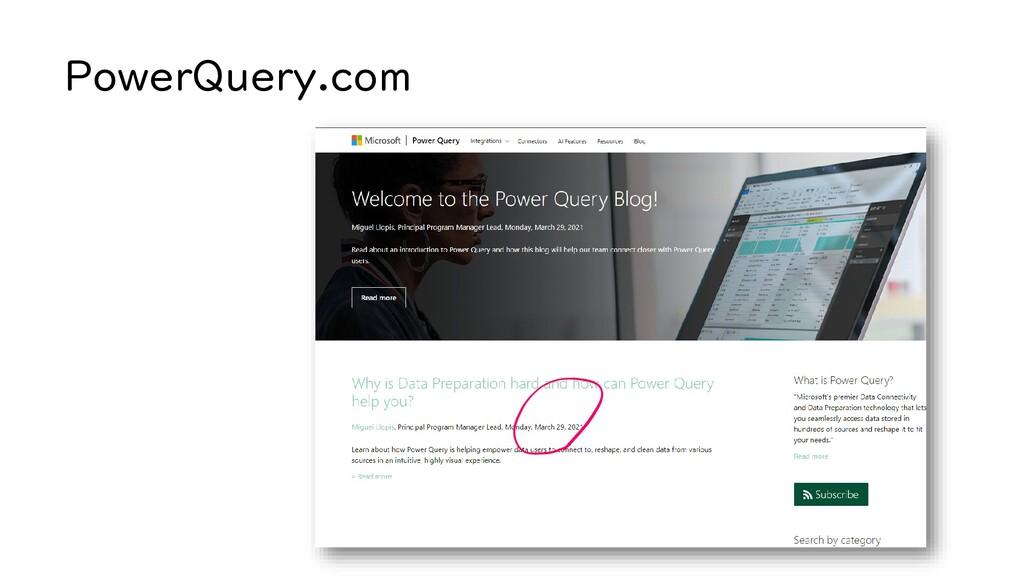 PowerQuery.com