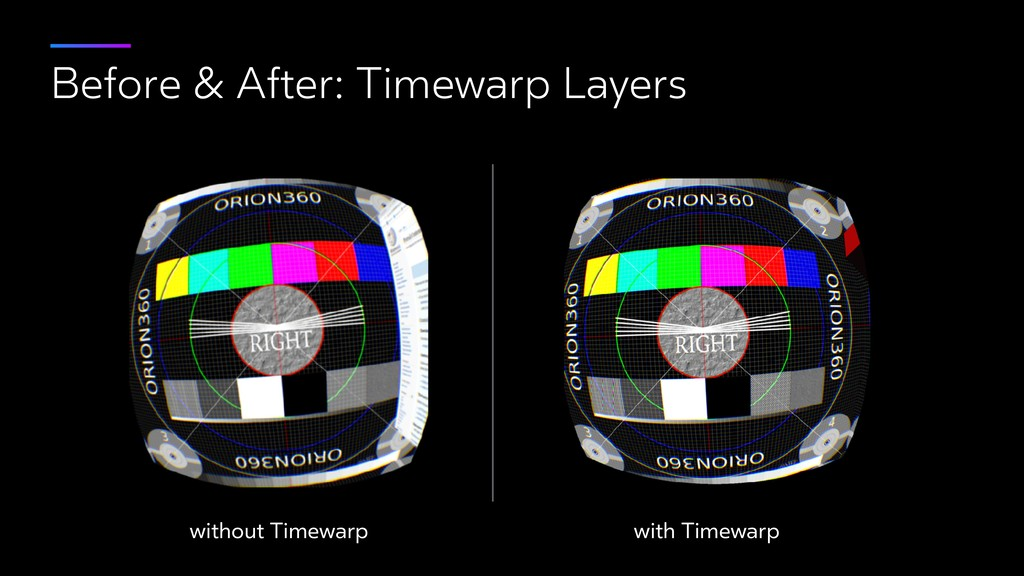 Before & After: Timewarp Layers without Timewar...