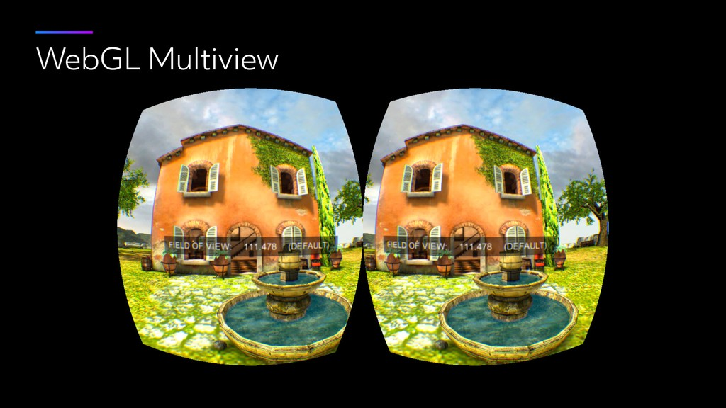 WebGL Multiview