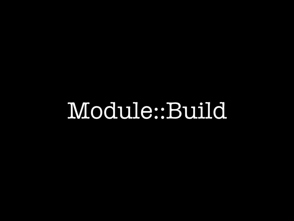 Module::Build
