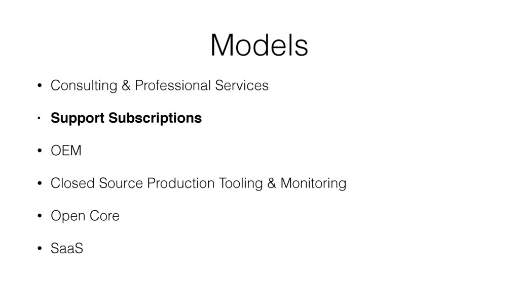 Models • Consulting & Professional Services • S...