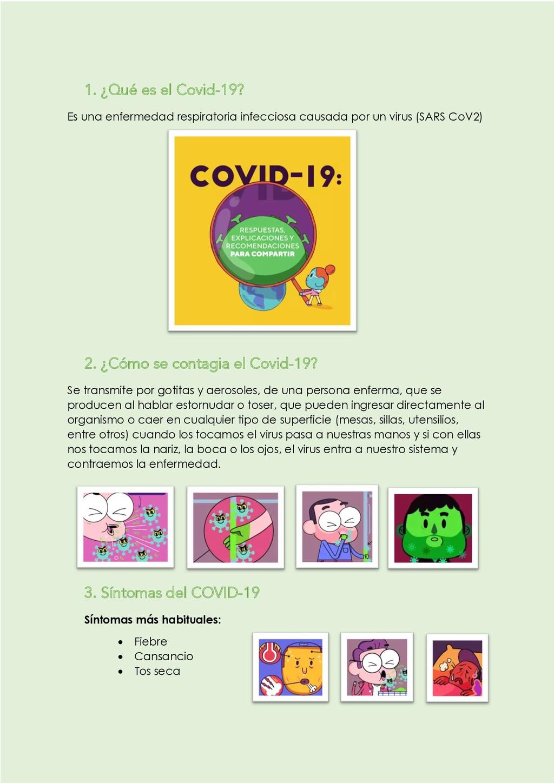 1. ¿Qué es el Covid-19? Es una enfermedad respi...
