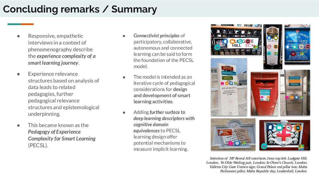 Concluding remarks / Summary ● Responsive, empa...